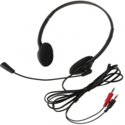 Computer, headset