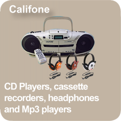 Link to the Califone Product Range